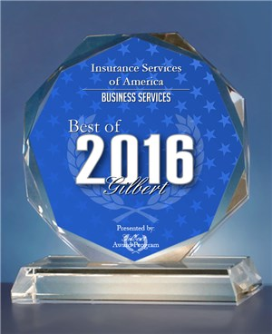 ISA Award Best of Gilbert 2016